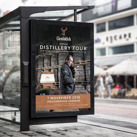 Glenfiddich Distillery Tour abri's