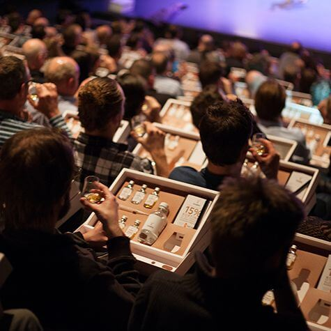 Glenfiddich Distillery Tour publiek